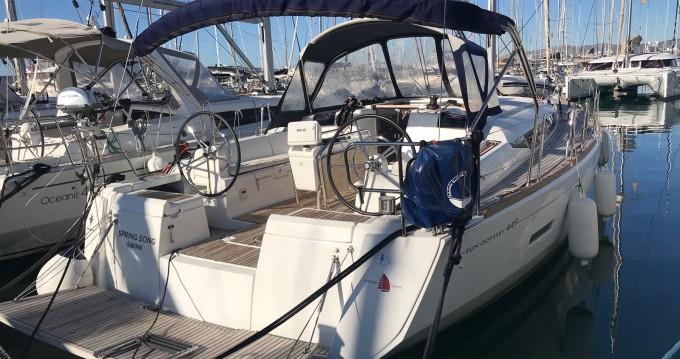 Noleggio yacht a Kaštel Gomilica – Jeanneau Sun Odyssey 449 owner version  su SamBoat
