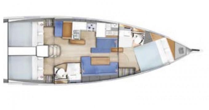 Noleggio yacht a Tropea – Jeanneau Sun Odyssey 410 Performance su SamBoat
