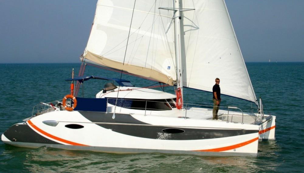 Noleggio yacht La Flotte - Fountaine Pajot Lavezzi 40 su SamBoat