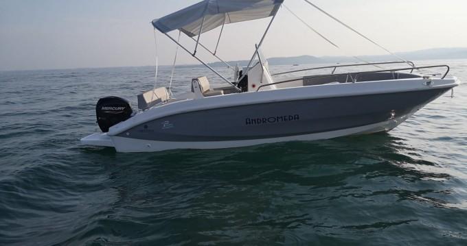 Noleggio barche Orizzonti andromeda 580 a Moniga del Garda su Samboat
