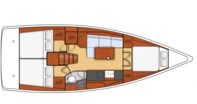 Noleggio Barca a vela a Vibo Valentia Marina – Bénéteau Oceanis 38.1