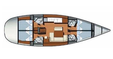 Noleggio Barca a vela con o senza skipper Jeanneau a Skradin