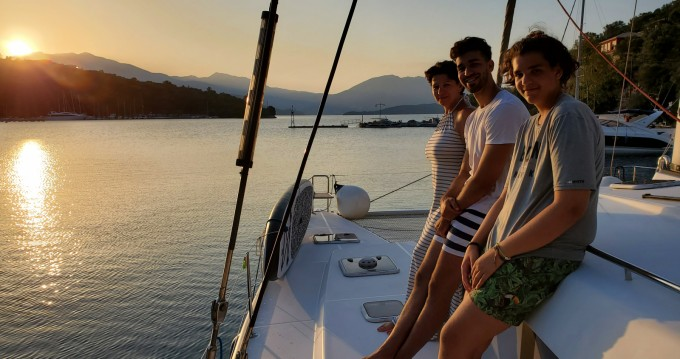 Noleggio barche Lefkada (Isola) economico Lagoon 440