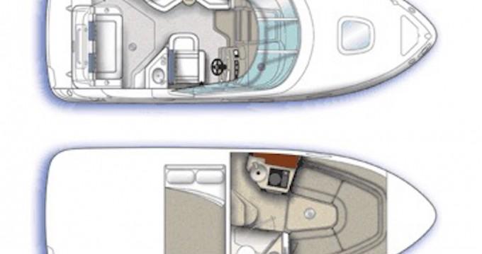 Noleggio Barca a motore con o senza skipper Sea Ray a Bodrum