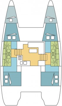 Noleggio Catamarano con o senza skipper Lagoon a Nosy Be