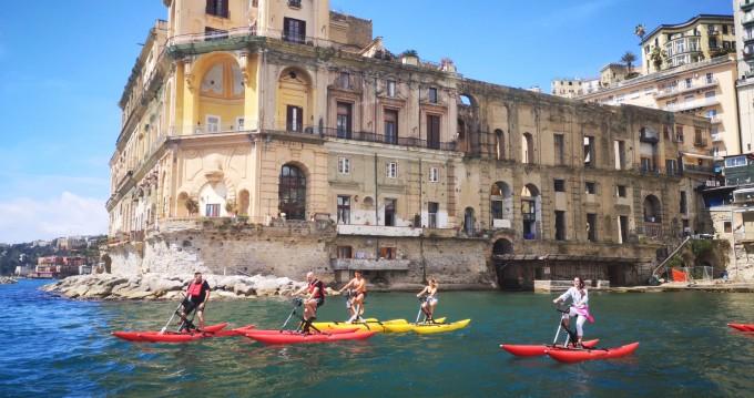 Noleggio Catamarano a Napoli – Chiliboat Bicicletta acquatica