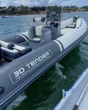 Noleggio Gommone con o senza skipper 3D Tender a Le Canon