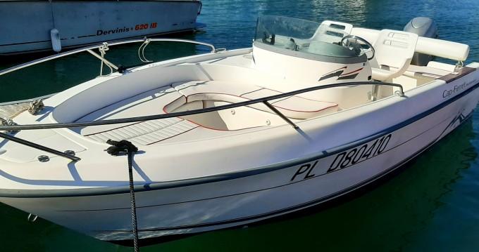 Noleggio Barca a motore Cap-Ferret con patente nautica