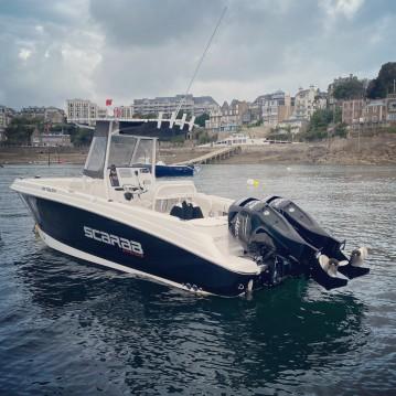 Noleggiare una Wellcraft Fisherman 252 a Dinard