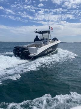 Noleggio barche Dinard economico Fisherman 252