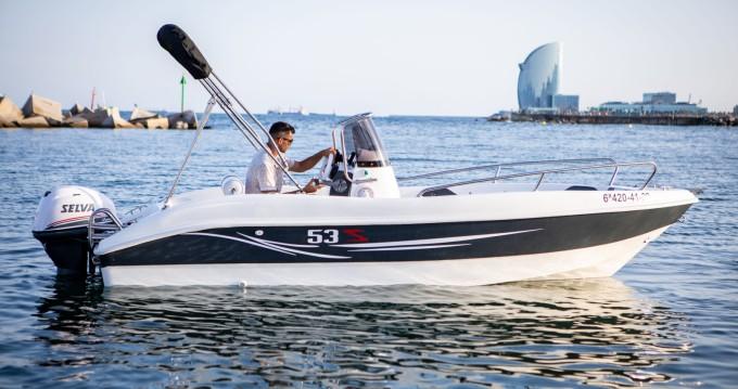 Barca a motore a noleggio a Barcellona al miglior prezzo