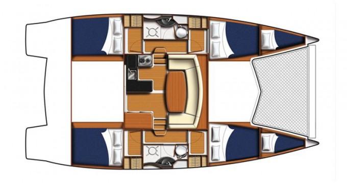 Noleggio Catamarano a Porto turistico Marsala – Robertson and Caine LEOPARD 38