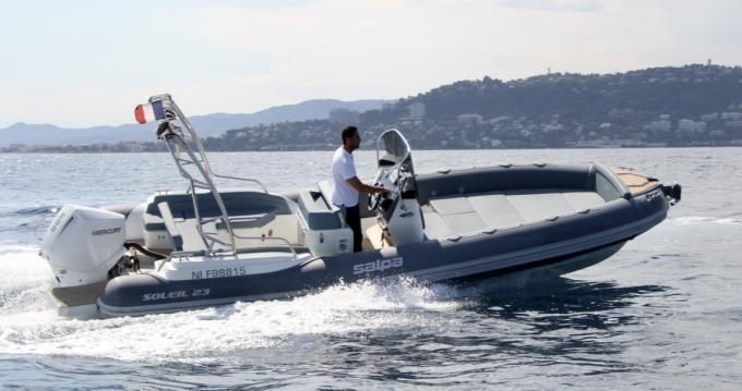 Noleggio Gommone a Antibes – Salpa Salpa Soleil 23