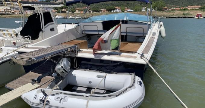 Noleggio Barca a motore con o senza skipper Tornado a Castiglione della Pescaia