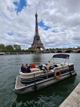 SUNCHASER TRAVERSE 750 tra privati e professionisti a Paris