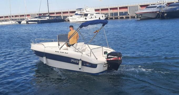 Noleggio barche Port de Barcelona economico 550 SOL