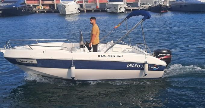 Noleggio barche Rio 550 SOL a Port de Barcelona su Samboat