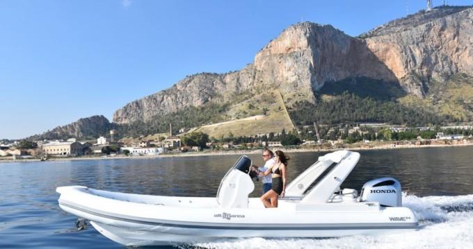 Noleggio barche Palermo economico Wave 24