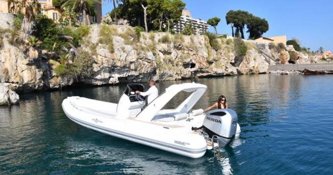 Noleggio Gommone con o senza skipper Altamarea a Palermo