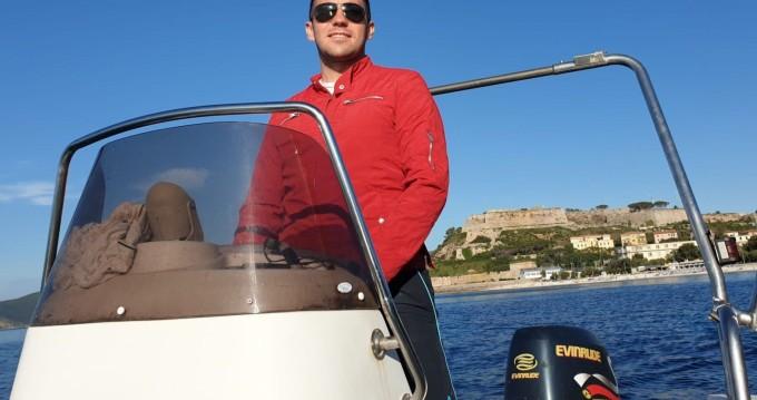 Noleggio barche Rada di Portoferraio economico Sacs S 490