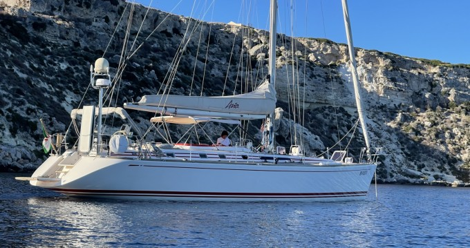 Noleggio Barca a vela Nautor Swan con patente nautica