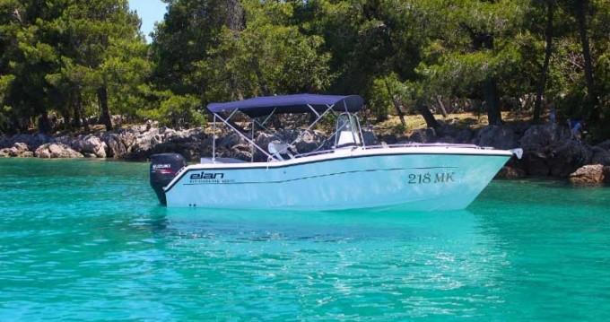 Noleggiare una Tahoe Elan Fishingline 650CC a Krk