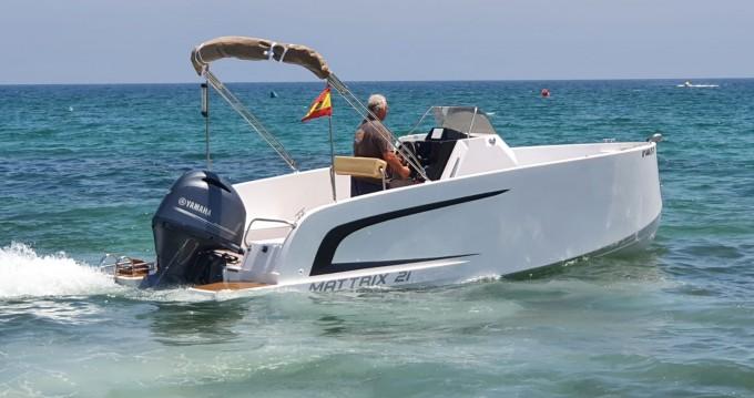 Noleggio barche Mattrix  21 a Santa Pola su Samboat