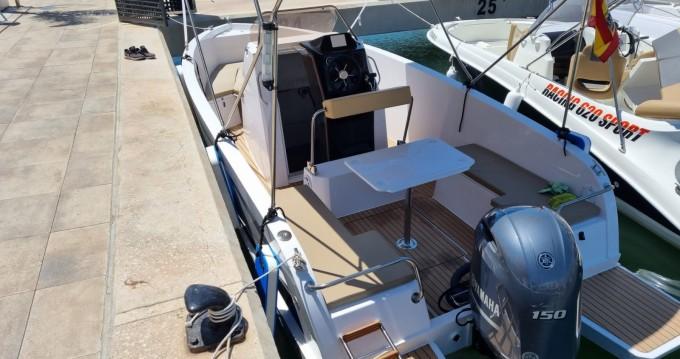 Noleggio Barca a motore a Santa Pola – Mattrix  21