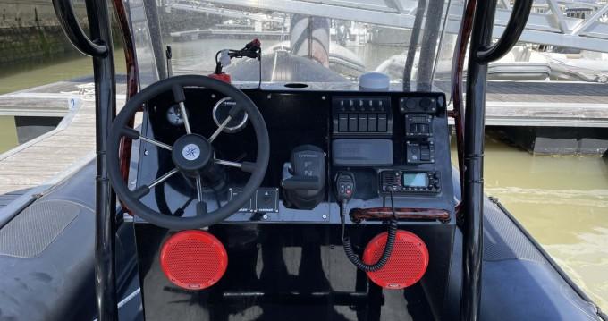 Noleggio Gommone con o senza skipper Humber a Royan