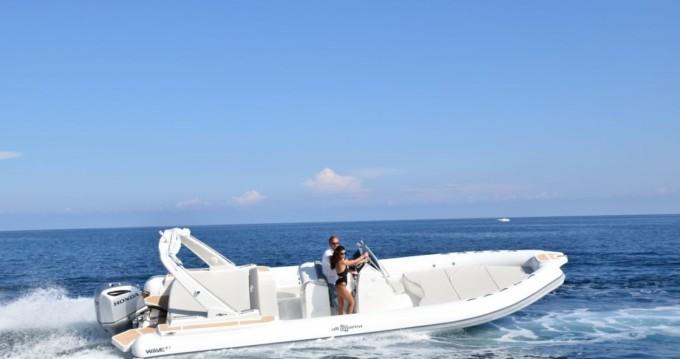 Noleggio Gommone a Palermo – Altamarea Wave 27