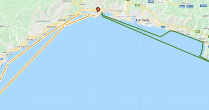 Noleggio Barca a motore a Genova – Menorquin-Yachts Menorquin 100