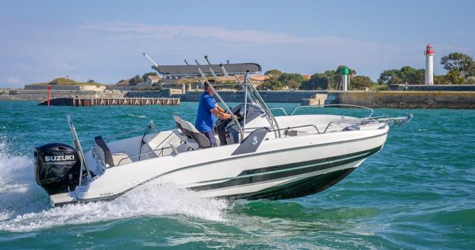 Barca a motore a noleggio a Saint-Martin-de-Ré al miglior prezzo