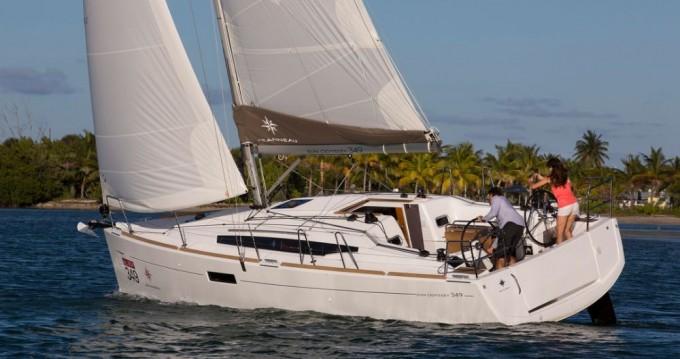 Jeanneau Sun Odyssey 349 tra privati e professionisti a Lussinpiccolo
